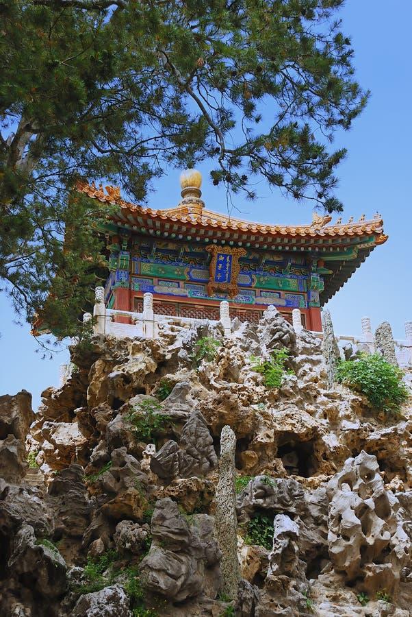 古老皇帝寺庙 库存图片