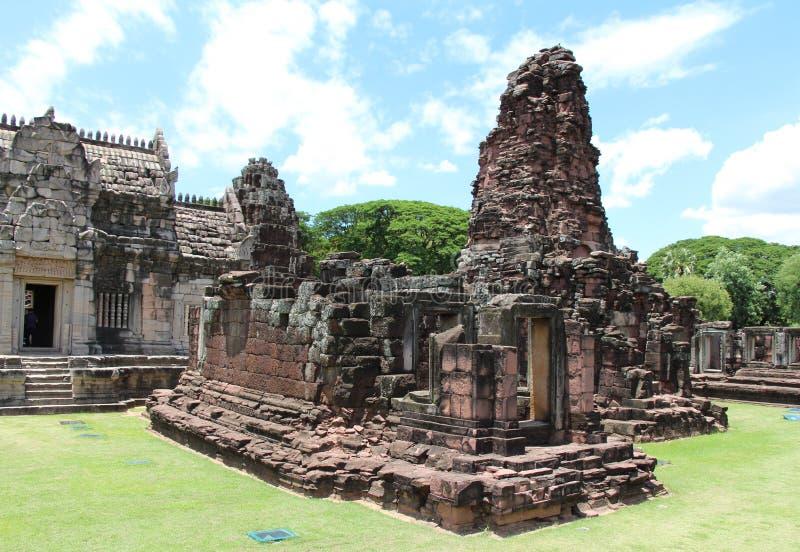 古老石城堡在泰国 免版税图库摄影