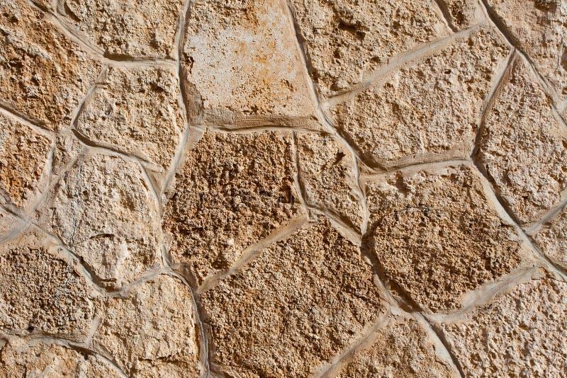 古老石工纹理  免版税库存图片