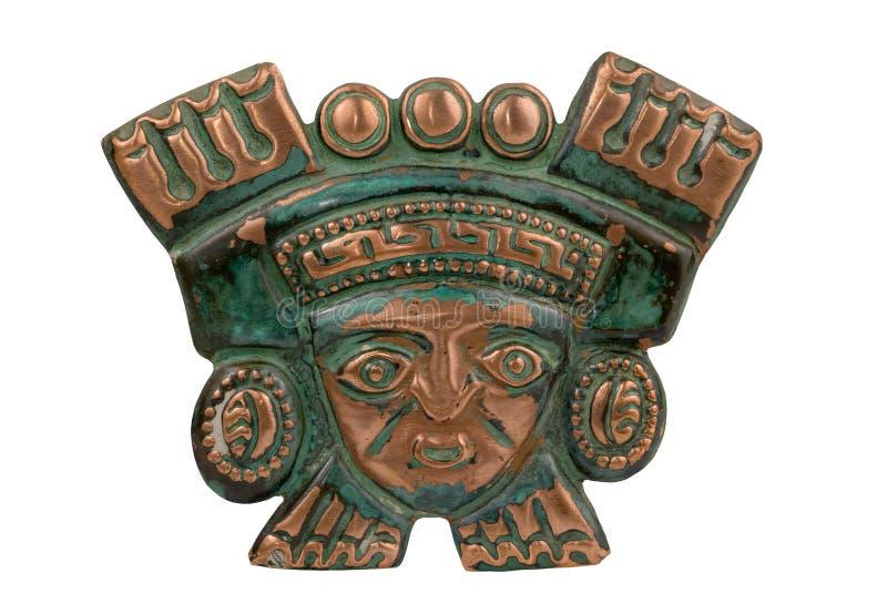 古老礼仪屏蔽秘鲁人 库存图片
