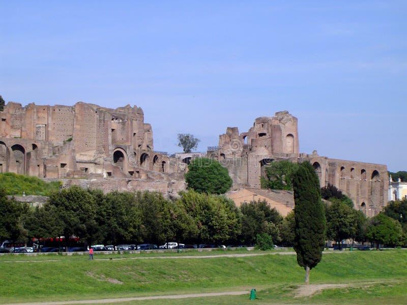 古老罗马视图 库存照片
