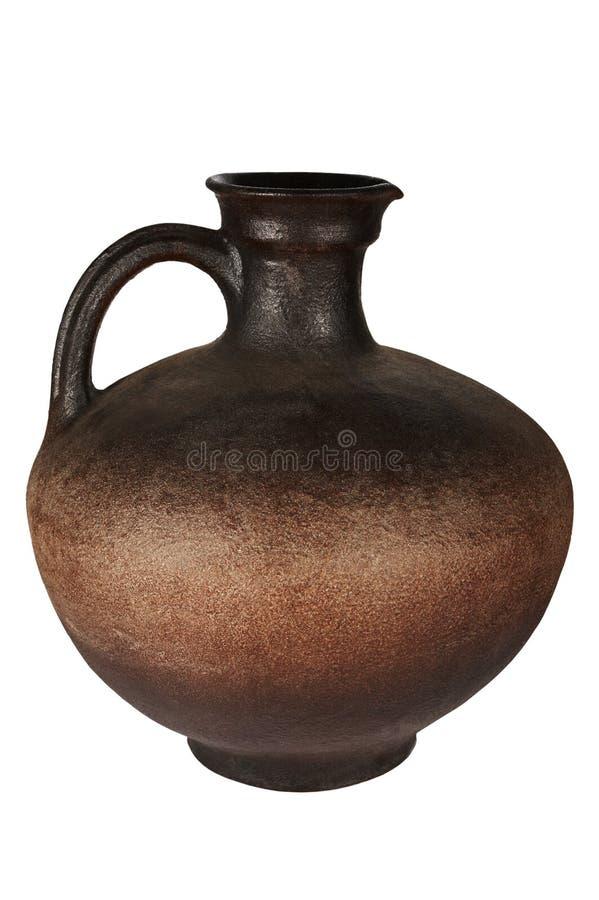 古老美丽的水罐 库存图片