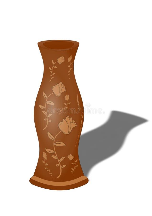 古老花瓶 免版税库存照片