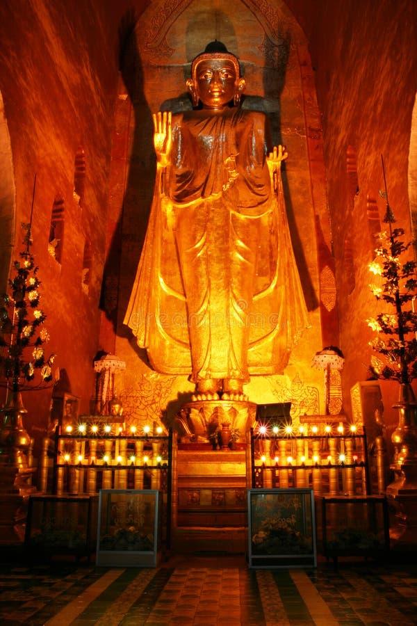 古老菩萨寺庙 库存图片