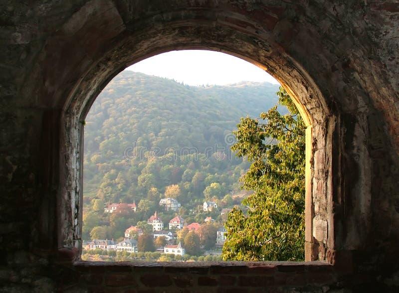 古老视窗 图库摄影