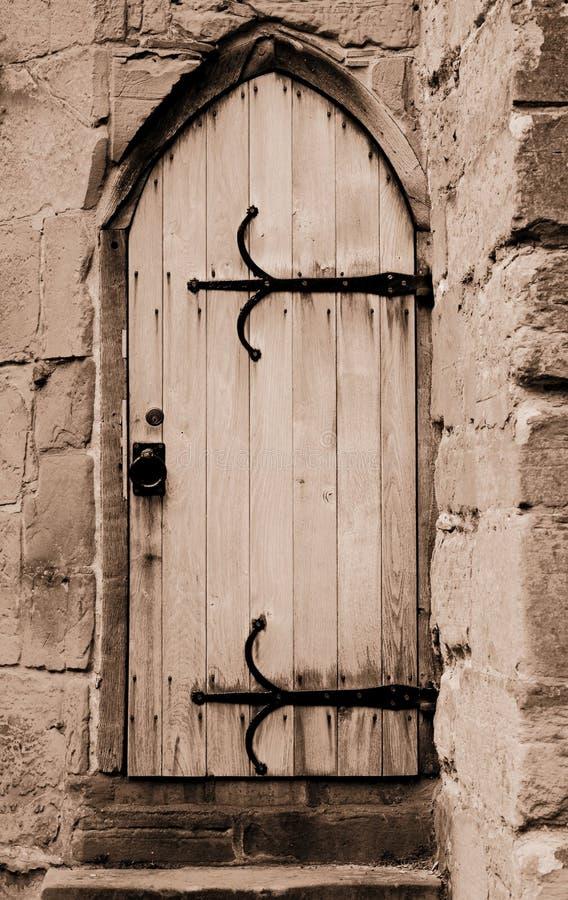 古老门 库存照片