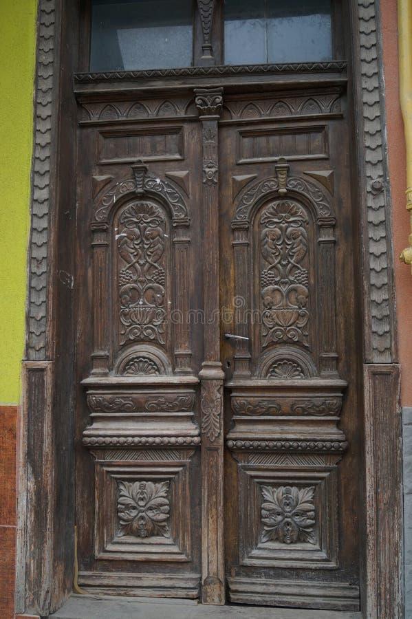 古老门 库存图片