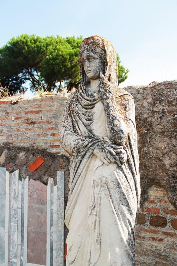 古老雕塑 图库摄影