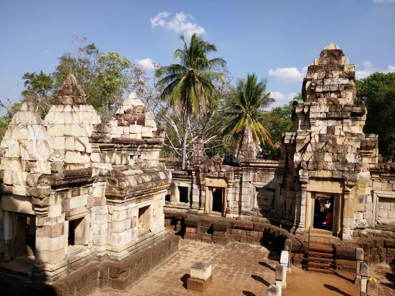 古老高棉艺术 库存照片