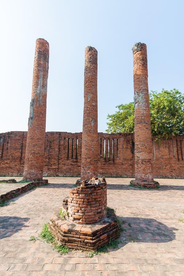 Download 在Ayutthaya历史公园,泰国破坏colum雕象 库存照片. 图片 包括有 岩石, 站点, 石头, 的btu - 30329216
