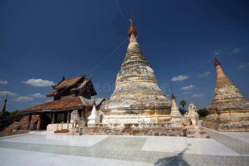 古老Bagan,缅甸,亚洲 免版税库存照片