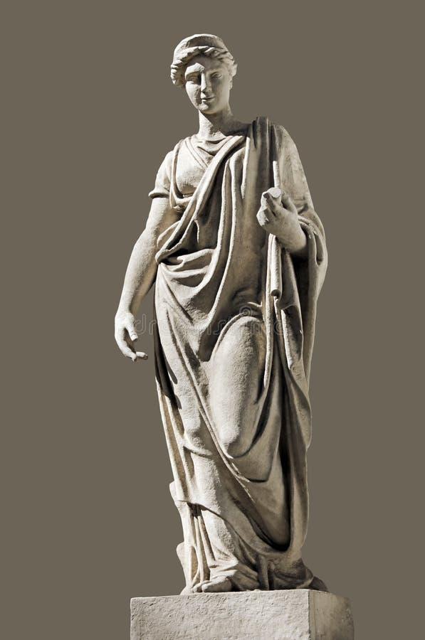古老Hera雕塑 免版税库存图片