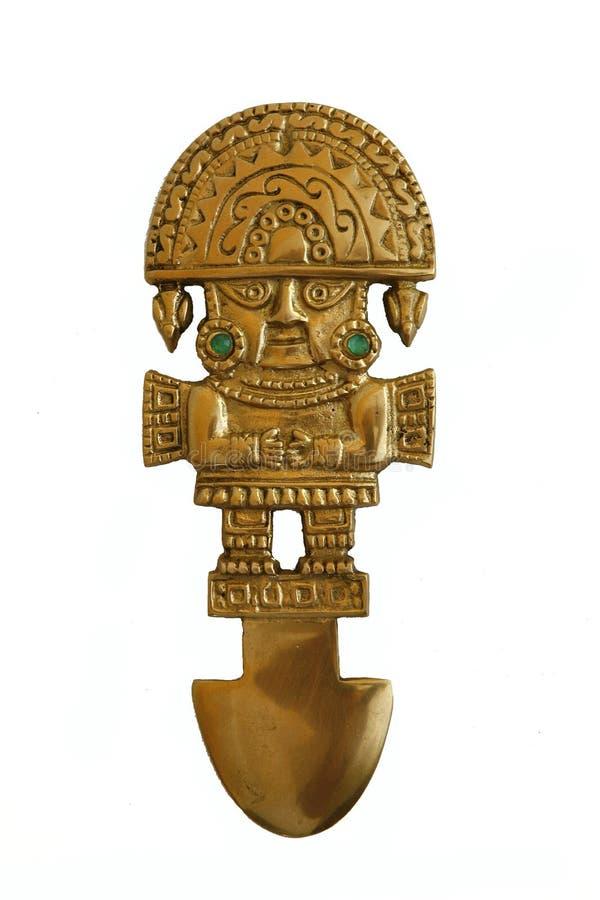 古老knive秘鲁人 库存照片