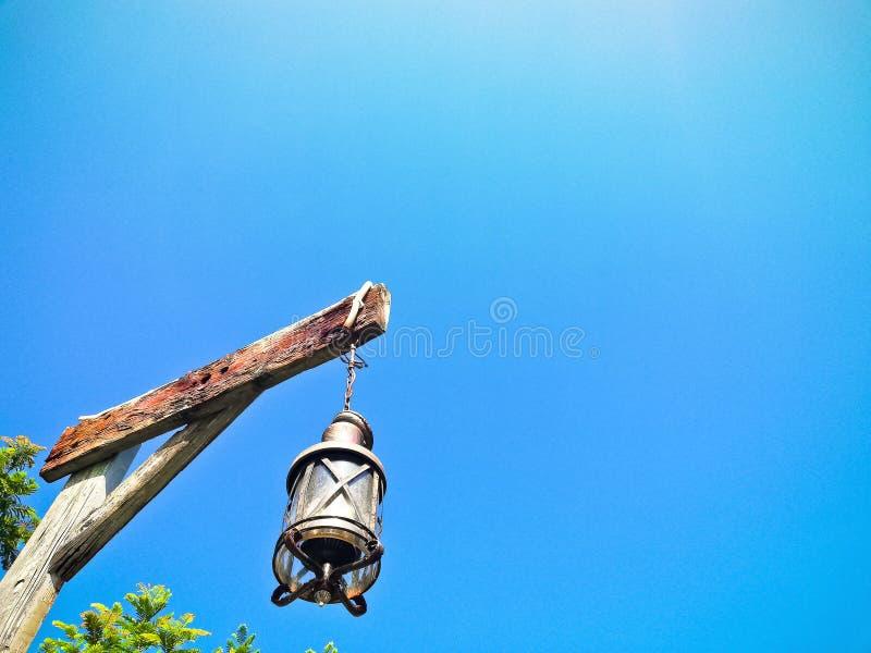 古色古香的乙炔灯 免版税库存照片