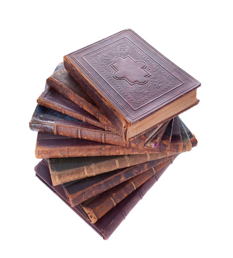 古色古香的书架 免版税库存照片