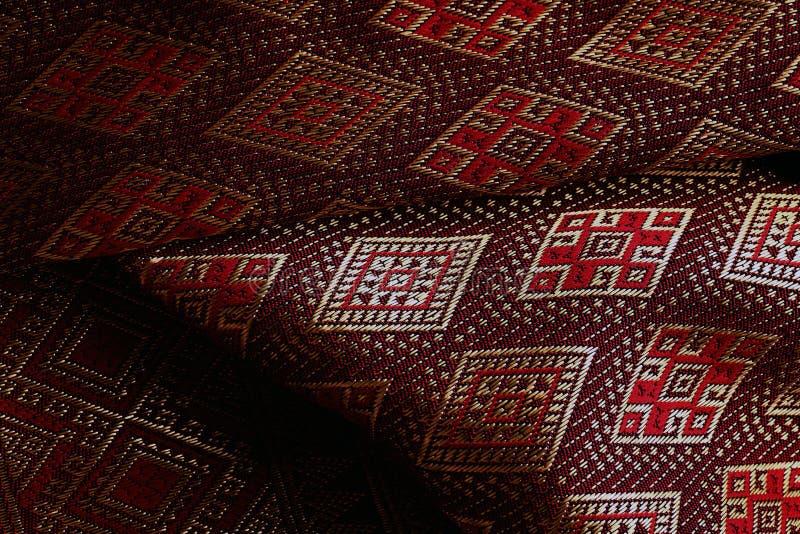 古色古香的亚洲纺织品 免版税库存图片