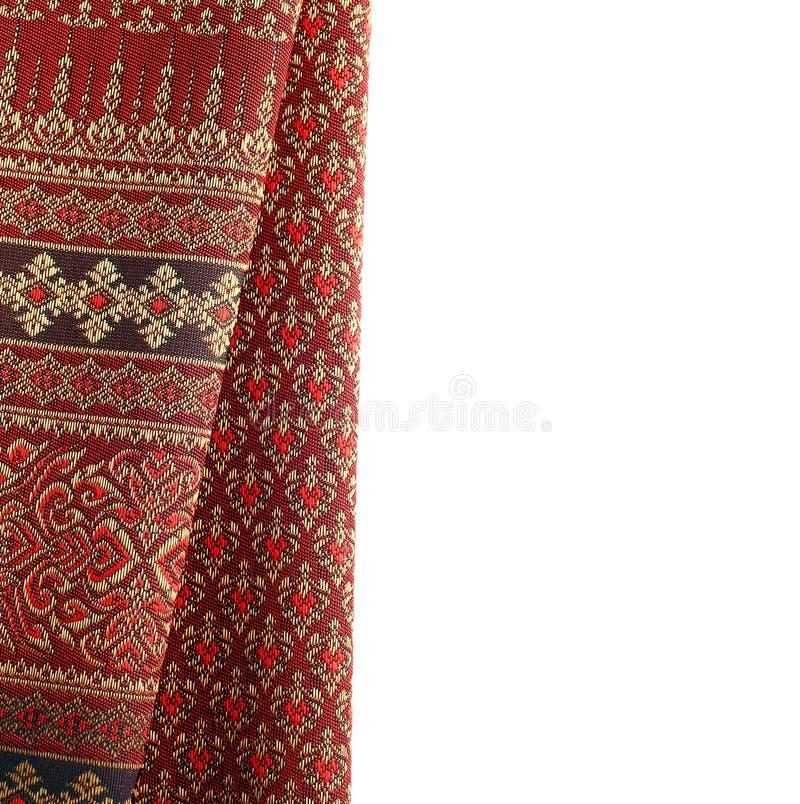 古色古香的亚洲纺织品 免版税图库摄影