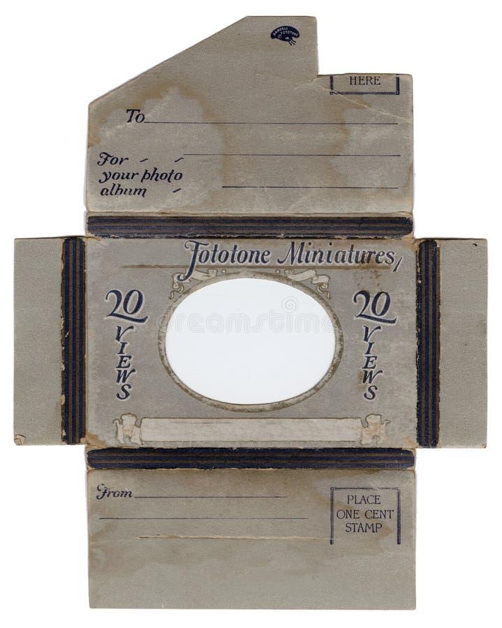 古色古香的信包照片 免版税图库摄影