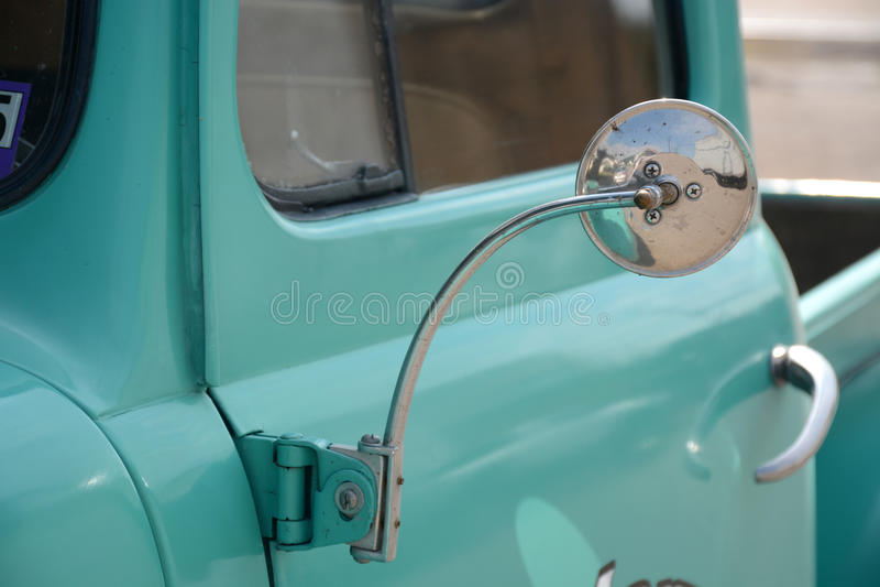古色古香的卡车细节 免版税库存照片