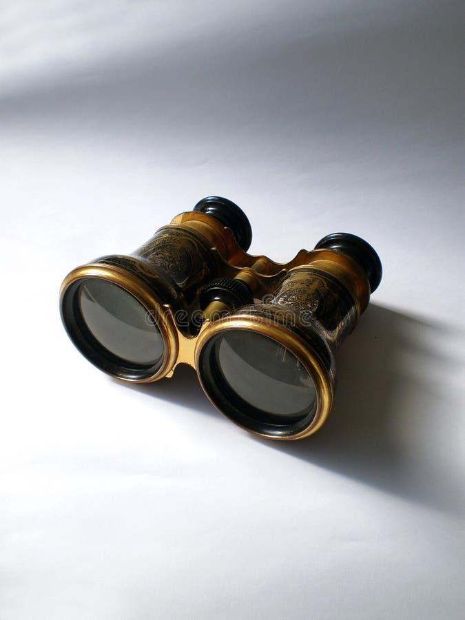 古色古香的双筒望远镜歌剧 免版税库存照片