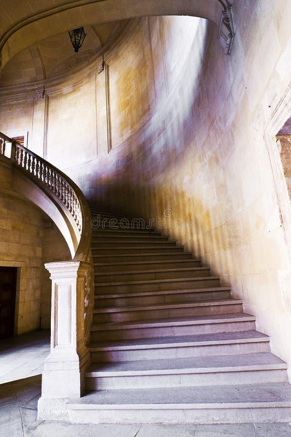 古色古香的台阶 免版税库存照片