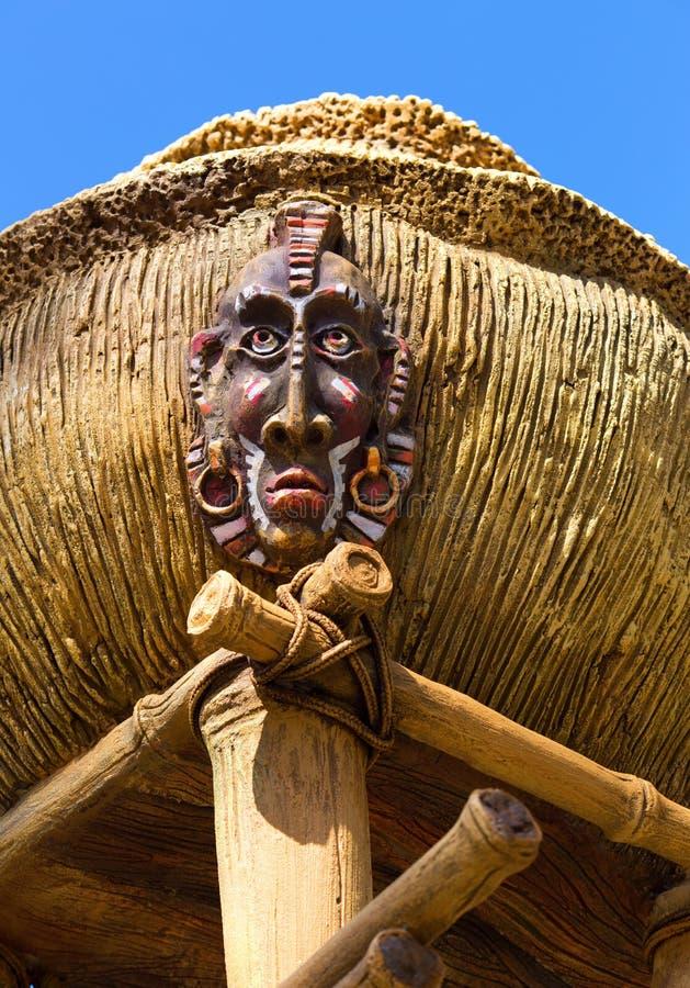古色古香的土产神象 免版税图库摄影