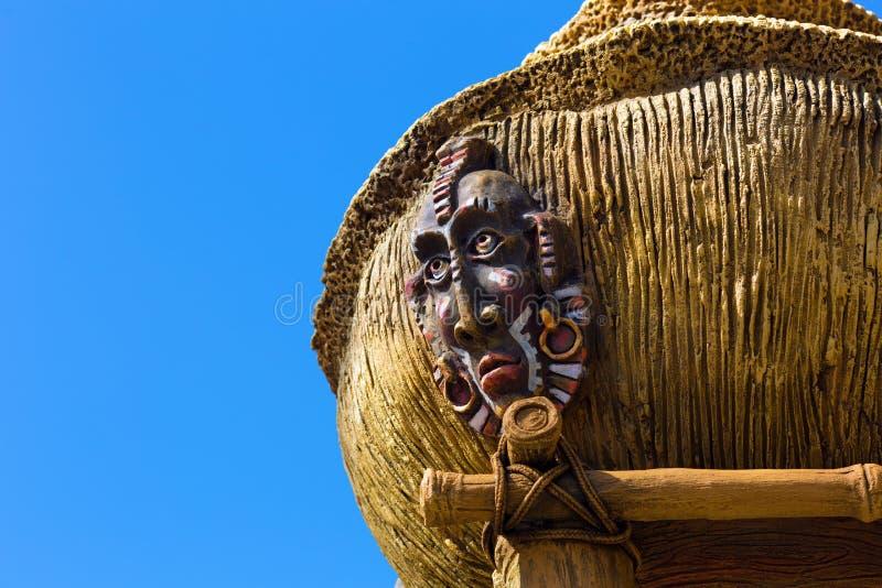 古色古香的土产神象 库存图片