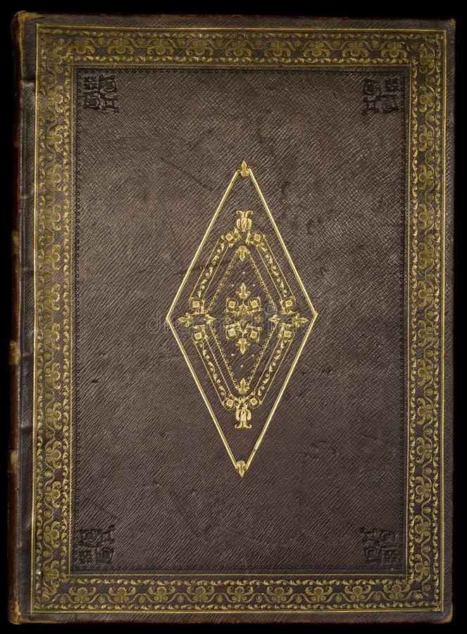 古色古香的圣经盖子 库存图片