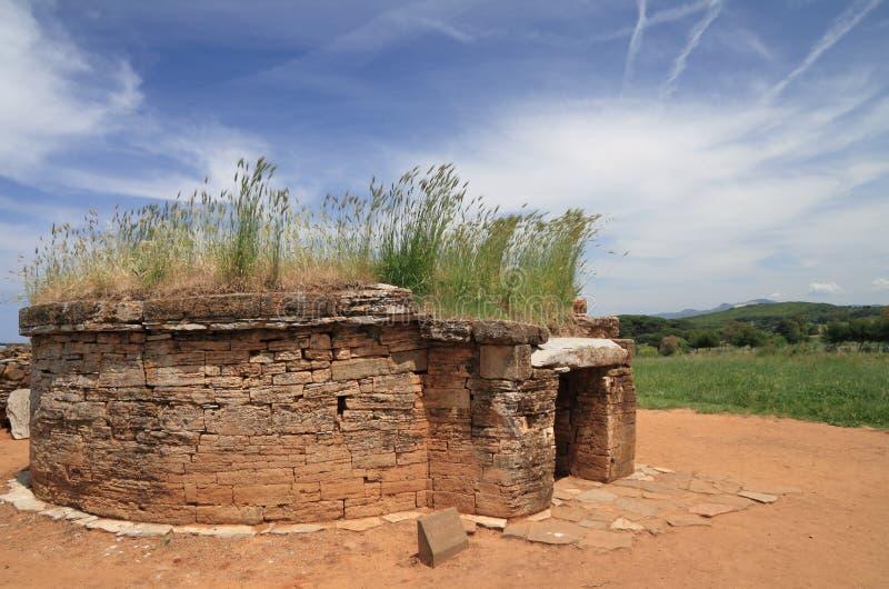 古色古香的坟茔 图库摄影