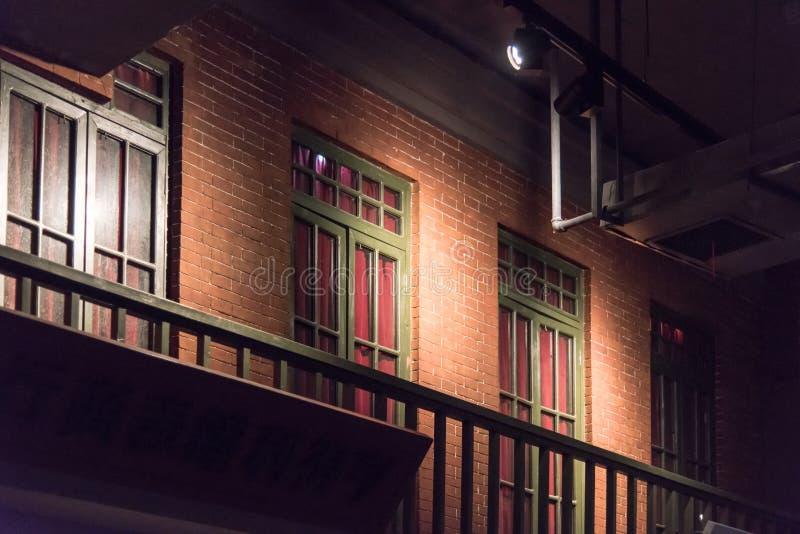 古色古香的大厦 免版税图库摄影