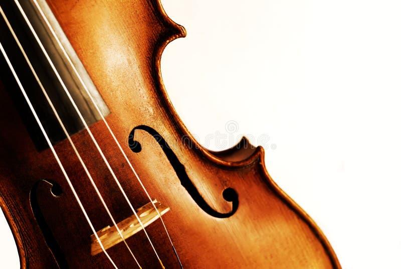古色古香的小提琴 免版税库存照片