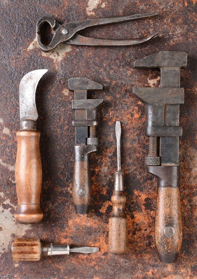 古色古香的工具 图库摄影