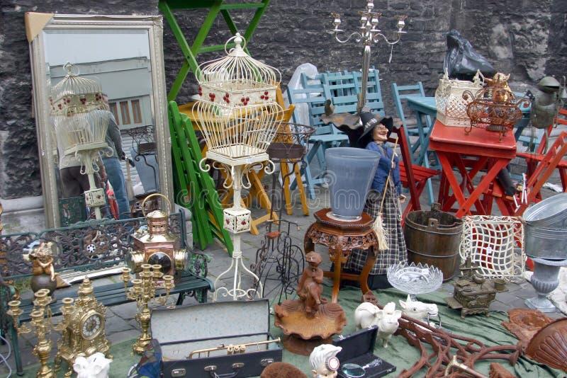 古色古香的市场 免版税图库摄影