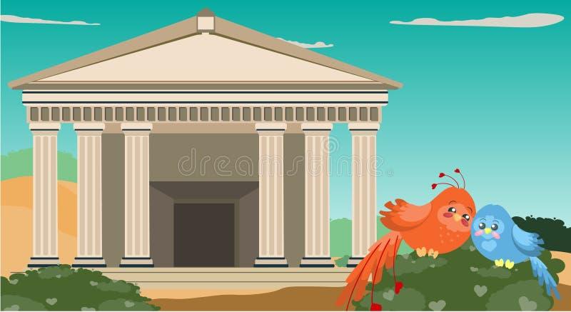 古色古香的希腊 免版税库存图片