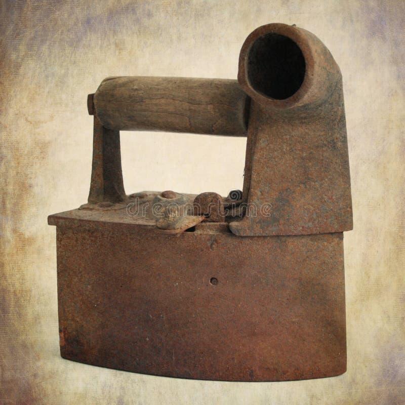 古色古香的平面的铁 图库摄影