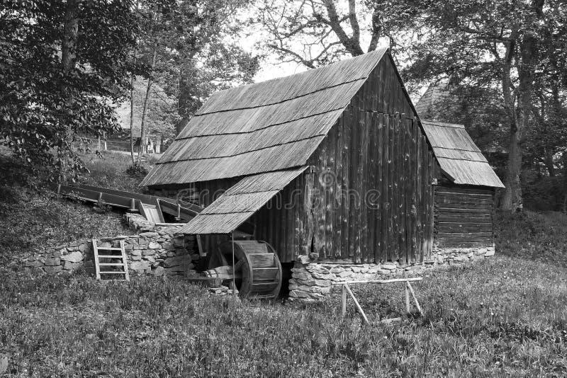 古色古香的房子在锡比乌罗马尼亚 免版税库存图片