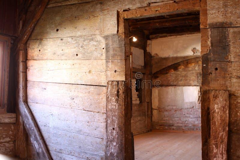 古色古香的房子 免版税图库摄影