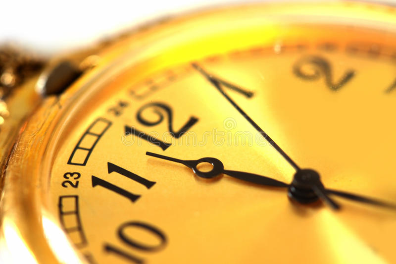 古色古香的手表 图库摄影
