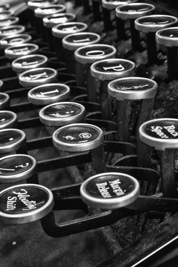 古色古香的打字机VII 免版税库存照片