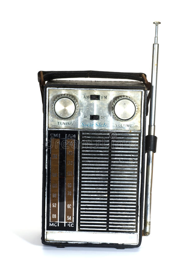 古色古香的收音机 免版税库存照片