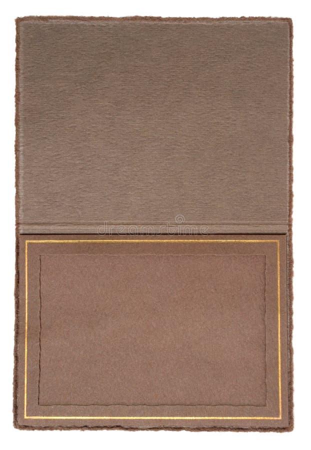 古色古香的文件夹照片 图库摄影