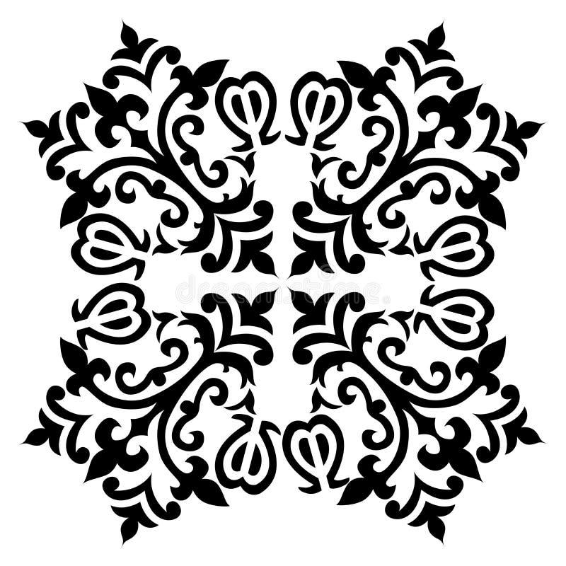 古色古香的无背长椅土耳其样式传染媒介设计五十八 皇族释放例证