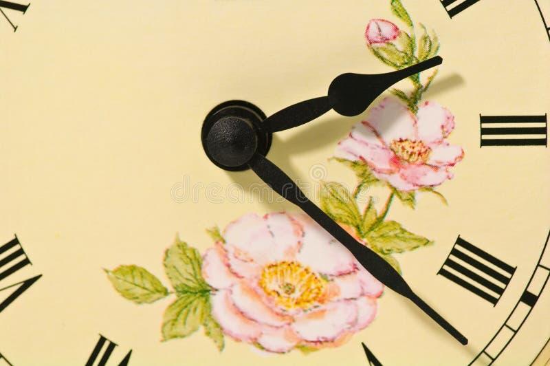 古色古香的时钟表盘 库存照片