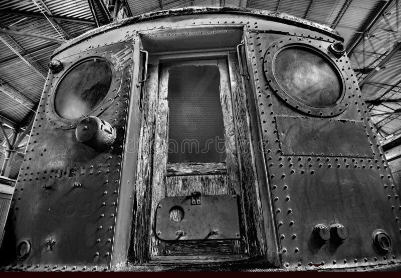 古色古香的有轨电车设计元素 库存图片