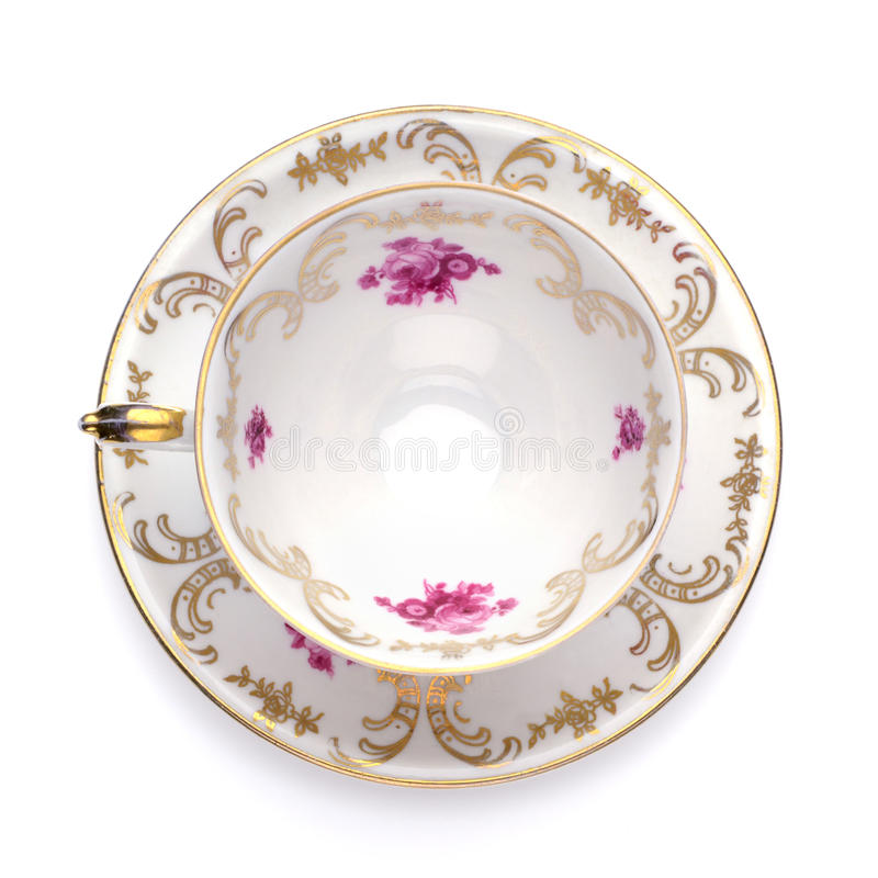古色古香的杯子茶 免版税图库摄影