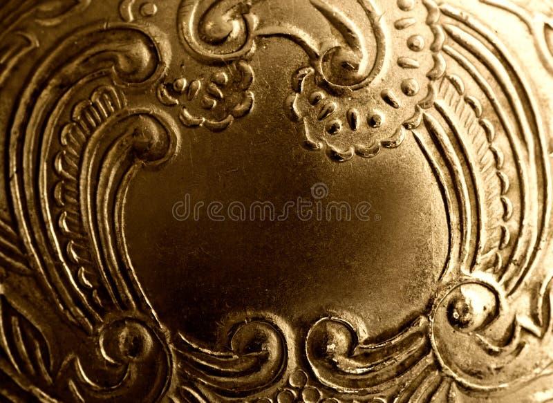 古色古香的框架金属葡萄酒 库存照片