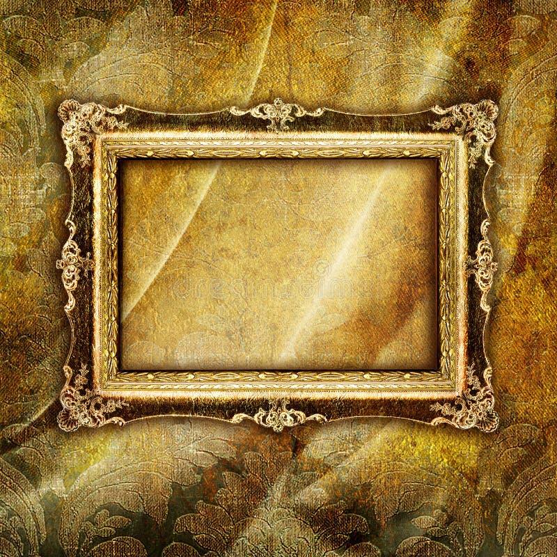 古色古香的框架 库存例证