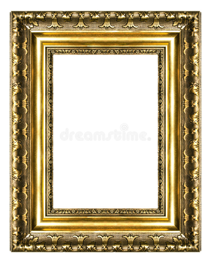 古色古香的框架 免版税图库摄影