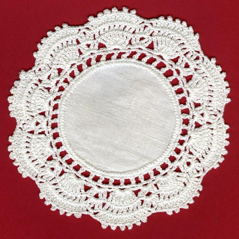 古色古香的棉花钩针编织 免版税库存图片