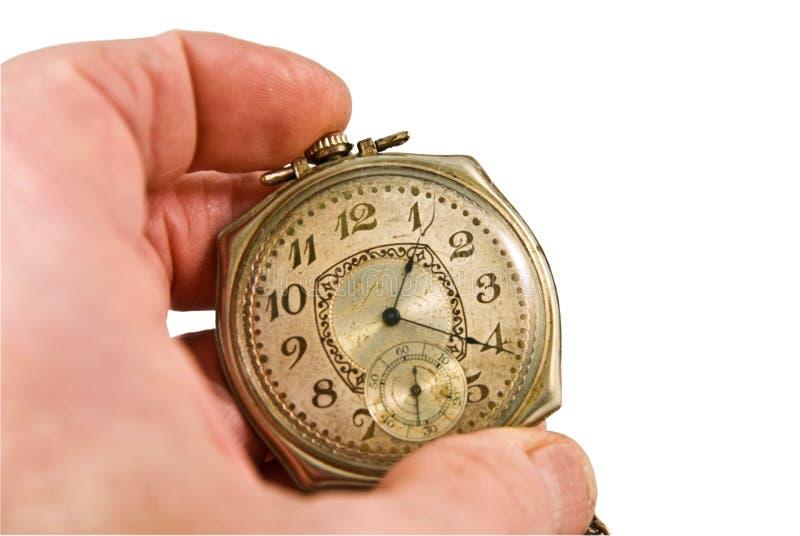 古色古香的现有量藏品手表 库存照片